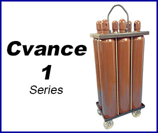 Compressed gas Cradle pack system cvance 1
