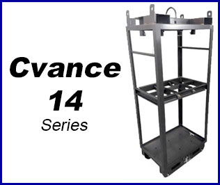 Compressed gas Cradle pack system cvance 14