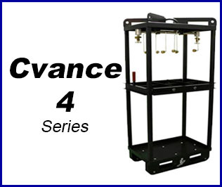 Compressed gas Cradle pack system cvance 4
