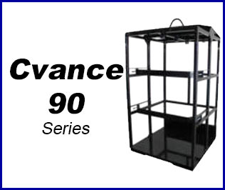 Compressed gas Cradle pack system cvance 90