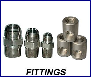 Compressed gas fittings